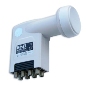 LNB HD3D 808 octo Best Elektronik GmbH